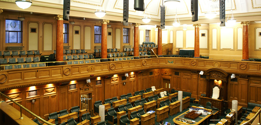 New Zealand Parliament Acoustic Technologies